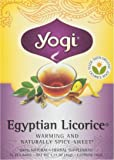 Yogi Tea Organic Egyptian Licorice Tea, 16 Bags, 1.27 oz