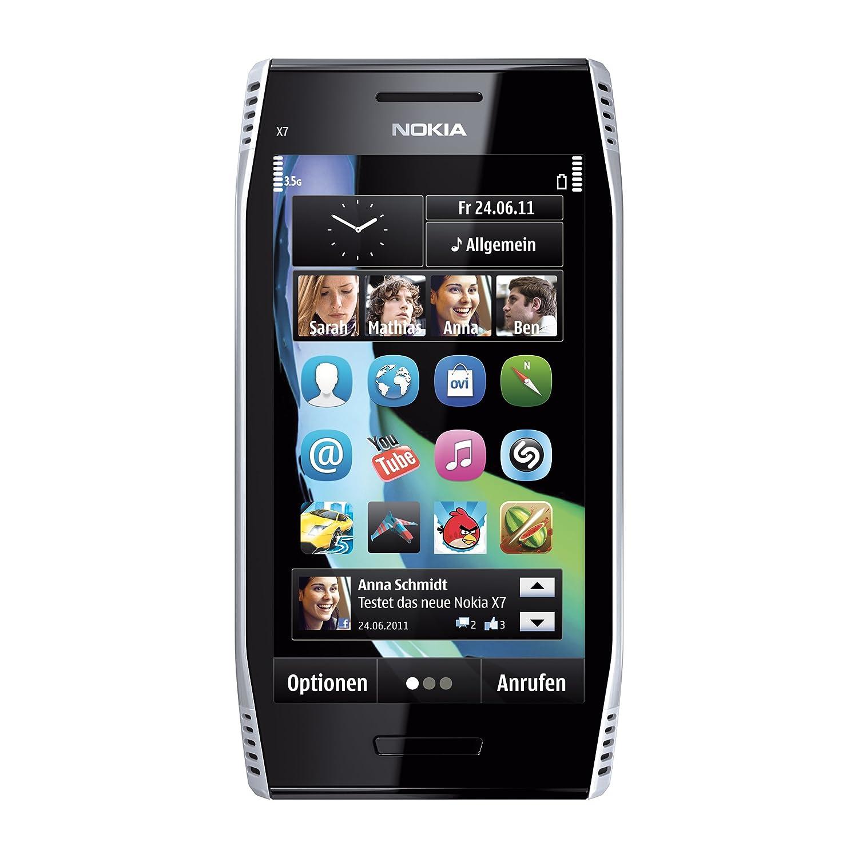 Nokia x7 00 software - Amazon Com Nokia X7 00 Steel Silver Unlocked Smartphone Cell Phones Accessories