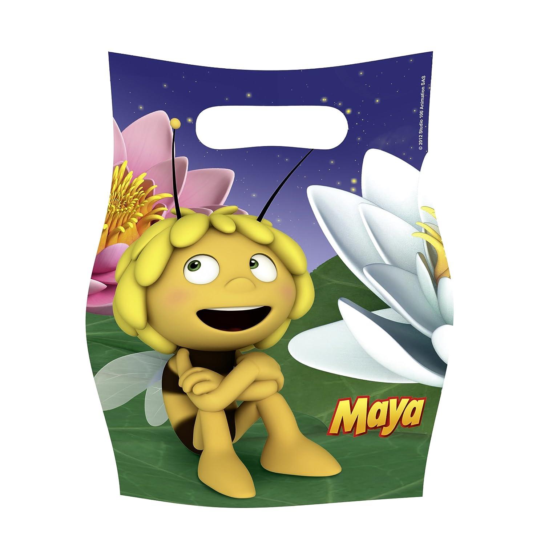 42-teiliges * BIENE MAJA * PARTY SET für Kindergeburtstag mit 42-42 ... - Biene Maja Einladungskarten