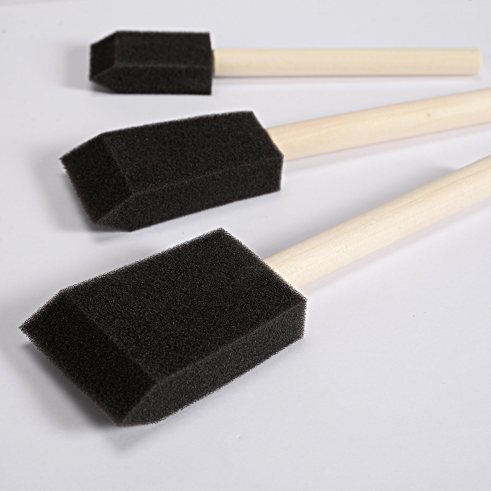 ArtistsGroup Foam Brush Set Painting 25 pcs HKA105058