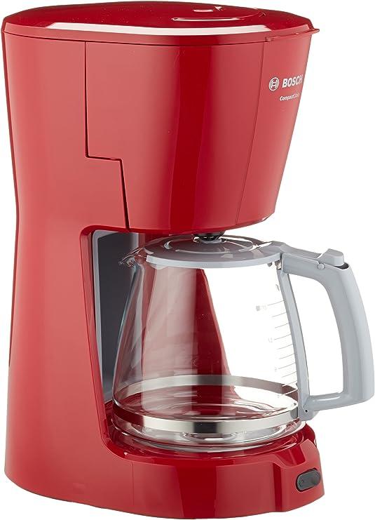 Bosch TKA3A014 - Cafetera de goteo, color rojo: Amazon.es: Hogar