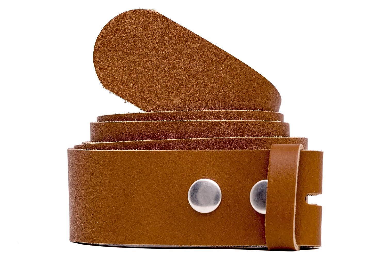 shenky - Cinturón de repuesto sin hebilla - Botones de ajuste - 3 cm de ancho