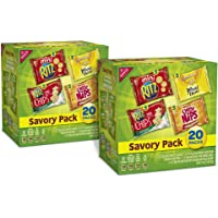 2-Pack Nabisco Savory Pack Crackers Mix (20-Count)