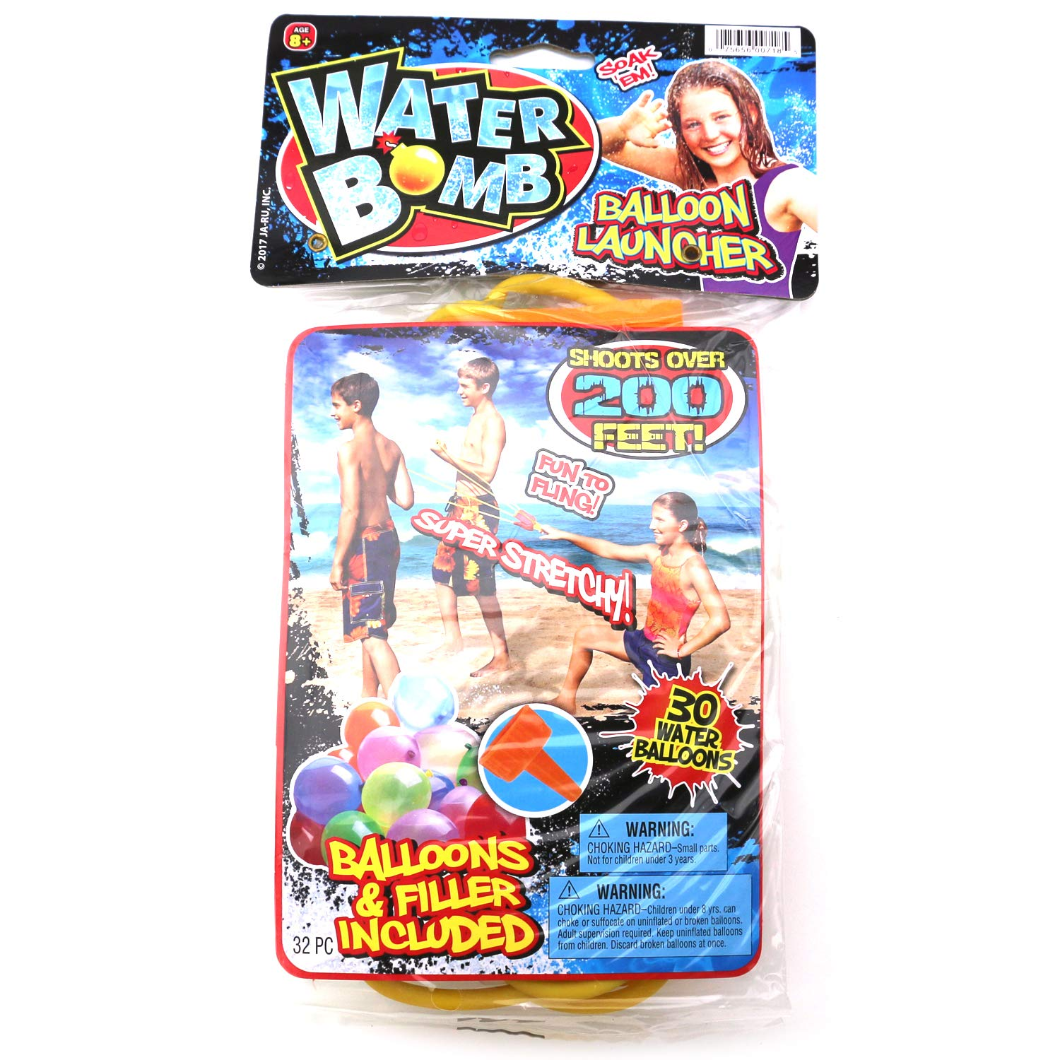 Ultimate 10 Piece Water Balloon Set 855 Water Balloons, Slinger, Carry Tote, Refill Gun, Water Balloon laucher Slingshot Water Balloon Party with 2 GosuToys Stickers by Gosu Toys (Image #5)