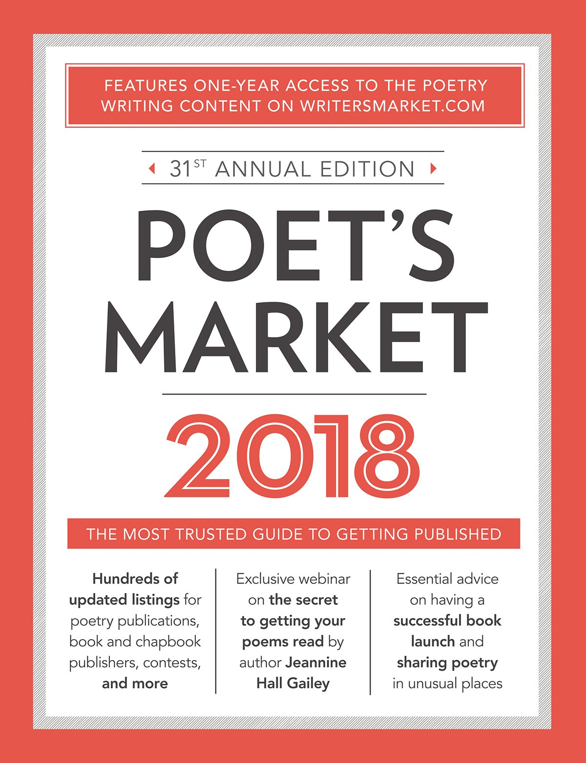 Poet's Market 2018: The Most Trusted Guide for Publishing Poetry by Writer's Digest