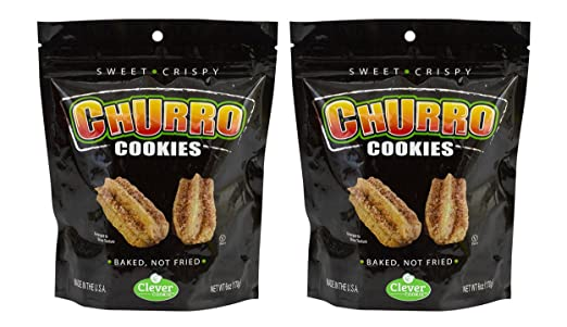 Amazon.com: Clever Cookies with Churro Cinnamon Cookies, 6 oz, 2-Pack 2-Pack