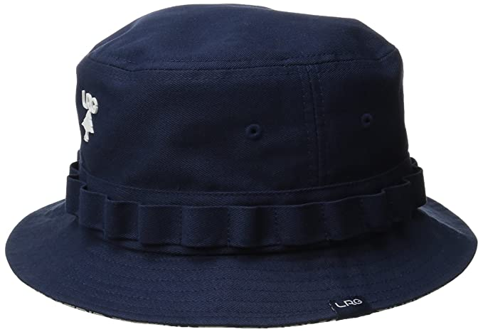 aff84c9021dc2d LRG Men's Research Collection Reverse Bucket Hat, Navy, Small/Medium ...