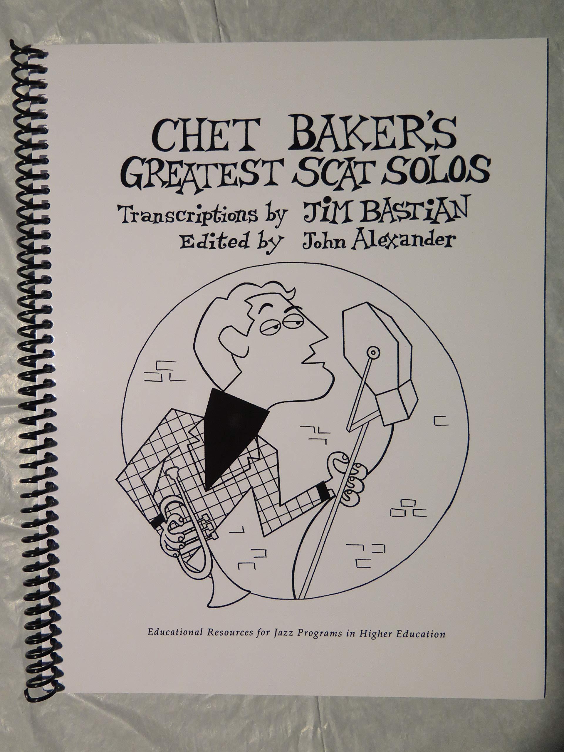 The Chet Baker Collection Jazz Trumpet Artist Transcriptions Sheet Music Book