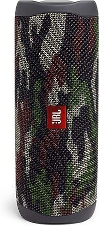 Oferta amazon: JBL Flip 5 - Altavoz inalámbrico portátil con Bluetooth, speaker resistente al agua (IPX7), JBL PartyBoost, hasta 12h de reproducción con sonido de calidad, camuflaje