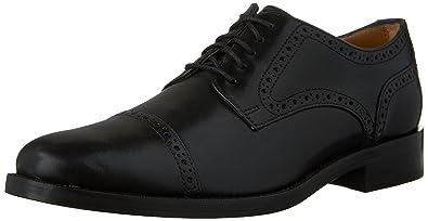 Mens Cole Haan Madison Grand Cap Oxfords Shoes Black EHO19331
