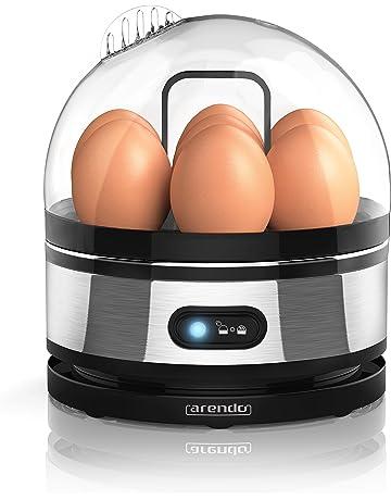 Arendo - Cuecehuevos de acero fino con función para mantener los huevos calientes