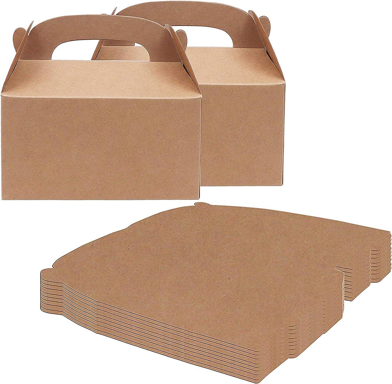 Caja Regalo (Pack de 24) - 15 x 16 x 9.3cm Cajas Regalo Manualidades - Cajitas de Regalo para Niños - Cajita Regalo Personalizado, Baby Shower, Cumpleaños