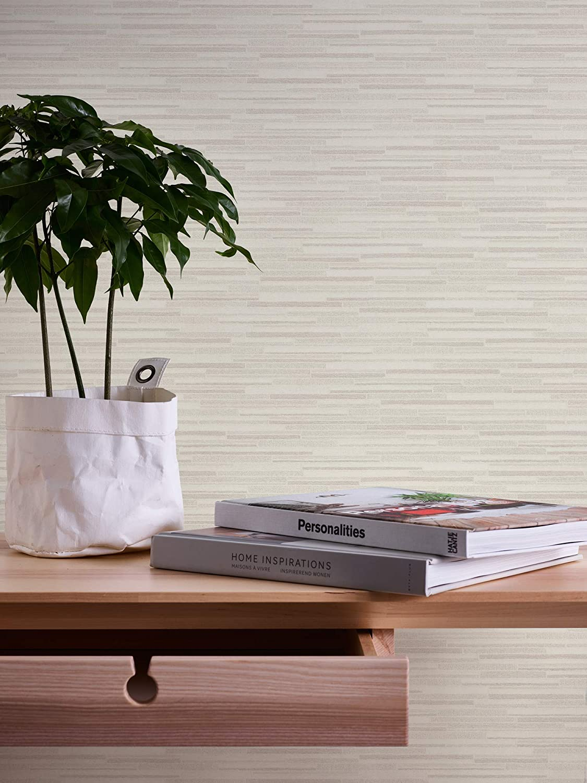 color gris y blanco A.S Cr/éation 709721 7097-21 Best of Woodn Stone 2nd Edition 10,05 x 0,53 m Papel pintado fotogr/áfico de piedra natural