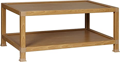 OneSpace 100% Recycled Paper Coffee Table, Oak