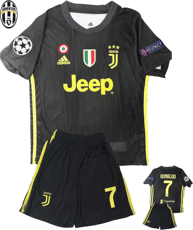 Unica Uniforme de fútbol niños Temporada 2019, 20 Small, Ronaldo BK: Amazon.es: Deportes y aire libre