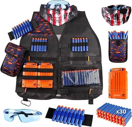 Tactical Vest Kit for Nerf Gun