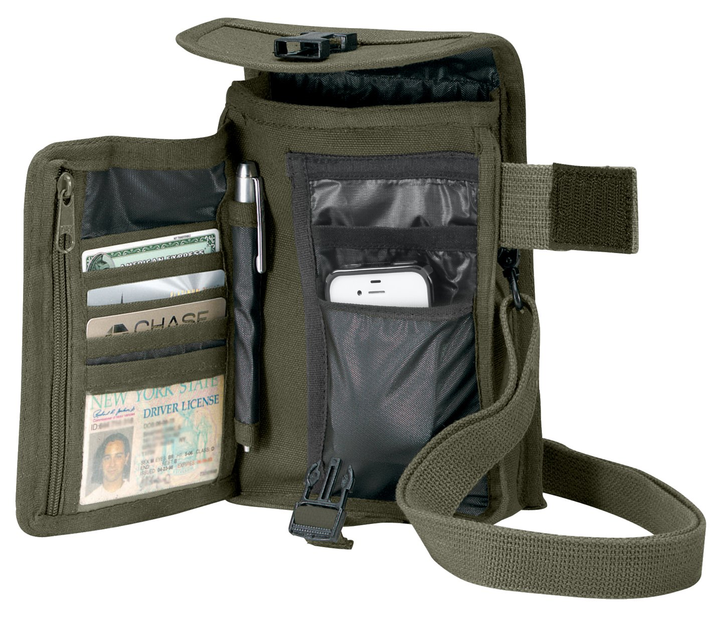 Rothco Venturer Travel Portfolio Bag, O.D.