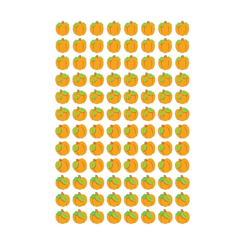 800 Piece Trend Enterprises Proud Pumpkins Super Shapes Stickers T-46071 Multi Inc