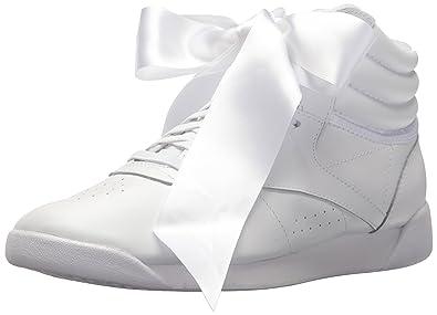 fcd7e072531 Reebok Women s F S HI Satin Bow Sneaker