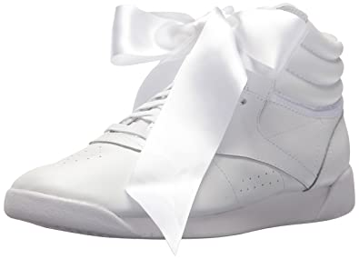 baa3b718319 Reebok Women s F S HI Satin Bow Sneaker