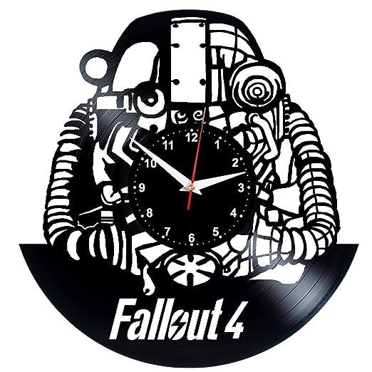 EVEVO Fallout 4 Reloj de Pared Fallout4 de Vinilo, Vintage ...