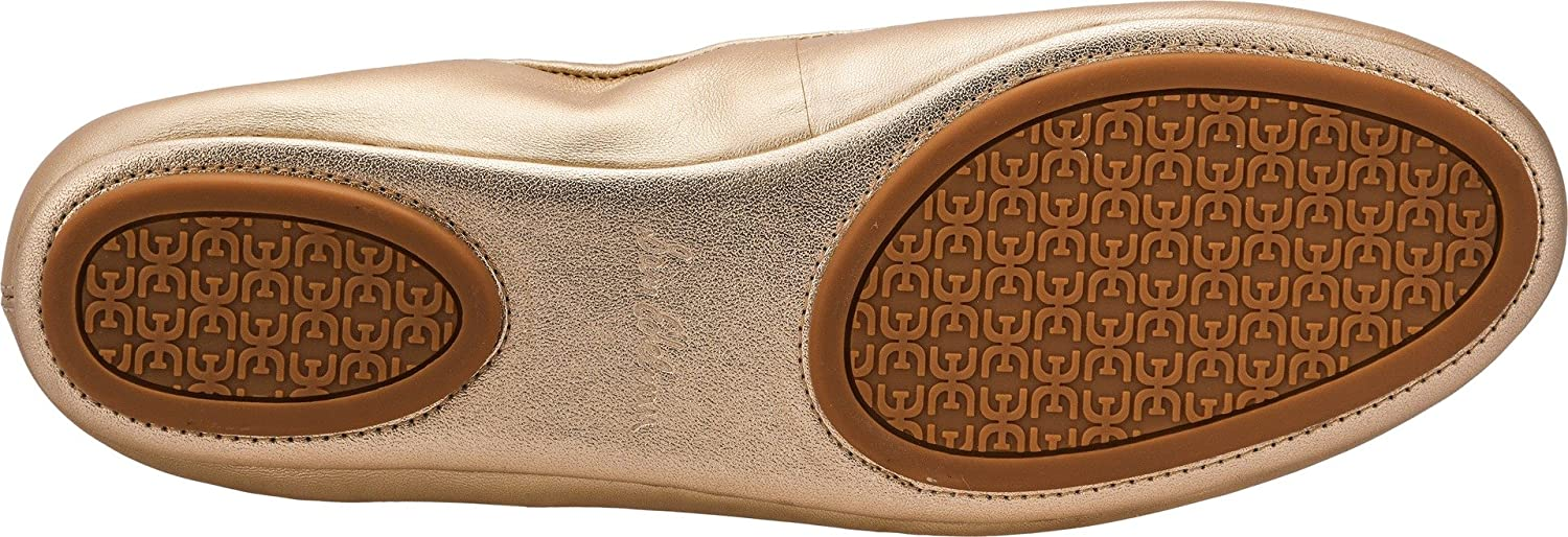 Sam Edelman Women's Florence Ballet Flat B077G97FSX 10 Metallic W US|Molten Gold Soft Metallic 10 Sheep Leather 7c91cc