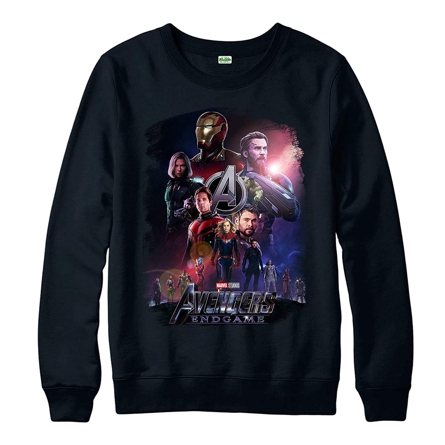 Avengers Endgame Poster Jumper Marvel Comics Superheroes Thanos Avengers All Heroes Party Wear Gift Adult and Kids Sizes Jumper Top