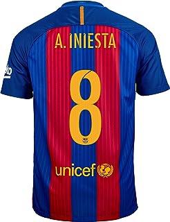 68de5c116111 Amazon.com   Nike Men s Soccer F.C. Barcelona 20th Anniversary Home ...