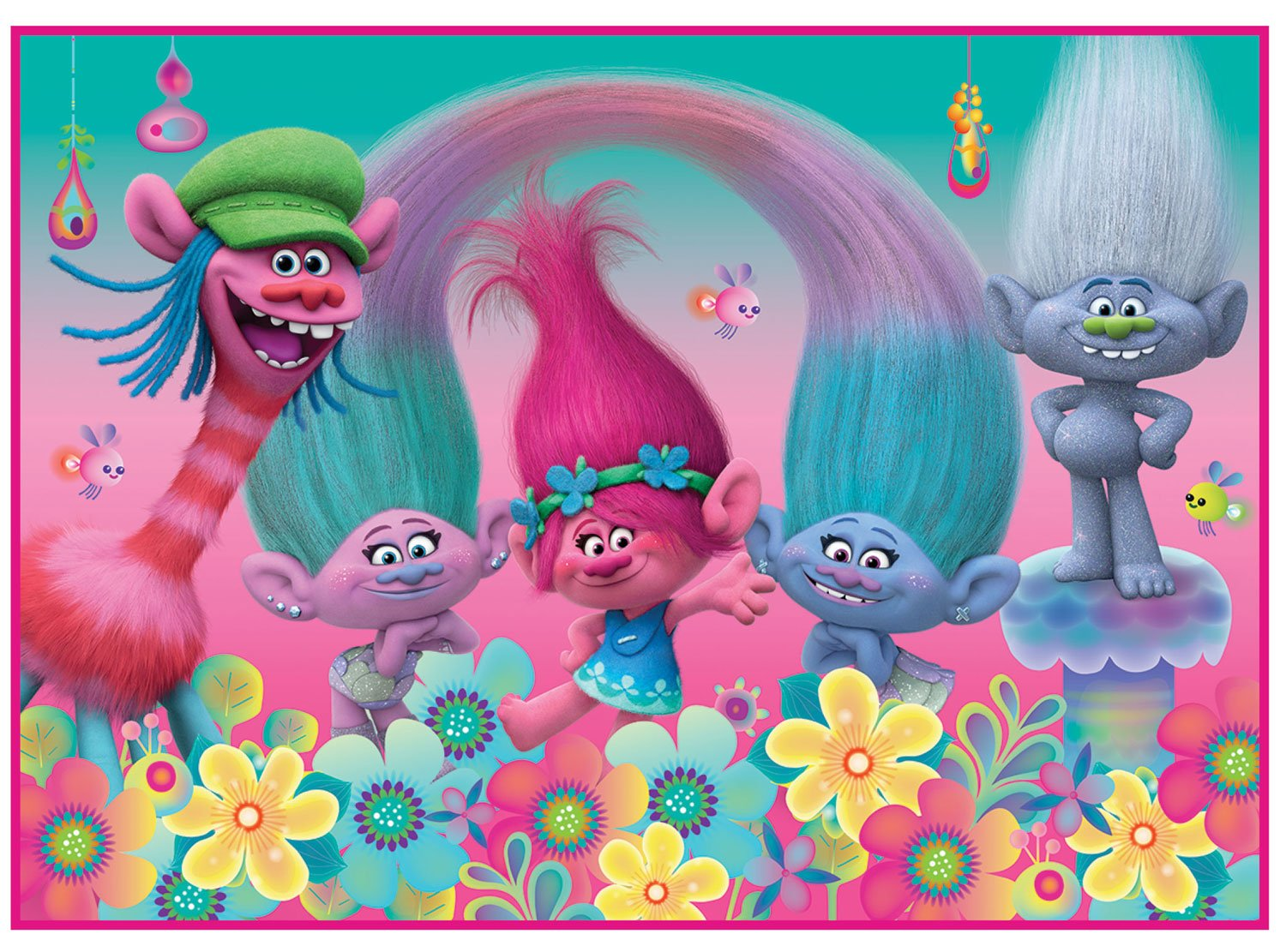 Trolls Kids Area Rug 40'' x 56'' by Dreamworks