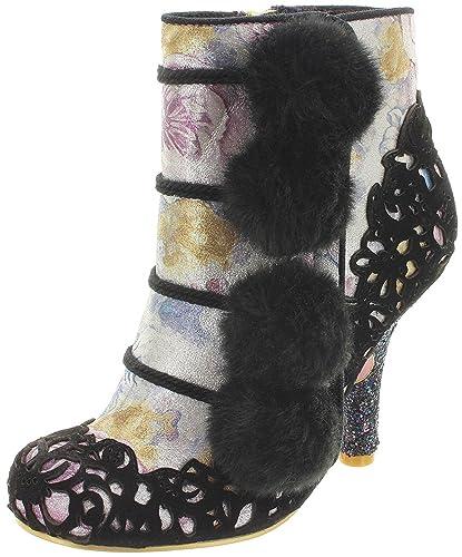 b6af6587308fd Irregular Choice Slumber Party Black Womens Hi Ankle Boots-36 ...