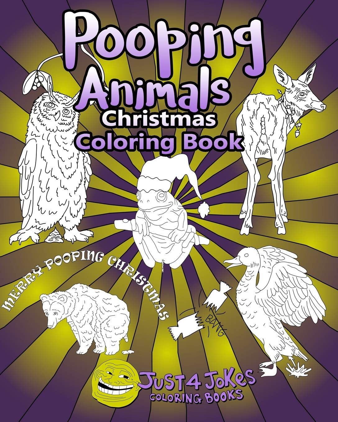Pooping Animals Have A Pooingly Fun Yuletide With This Great