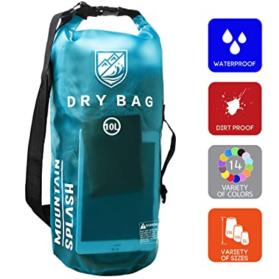 Waterproof Dry Bag 5L/10L/20L-Water Resistant Lightweight Backpack