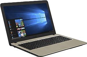 "ASUS Laptop, 15.6"" Full HD, Intel Core i5-7200U Processor (3M Cache, Up to 3.1GHz), 8GB DDR4 RAM, 1TB FireCuda SSHD, DVD-RW Drive, Micro SD Card Reader, Windows 10 - X540UA-DB52 (Renewed)"