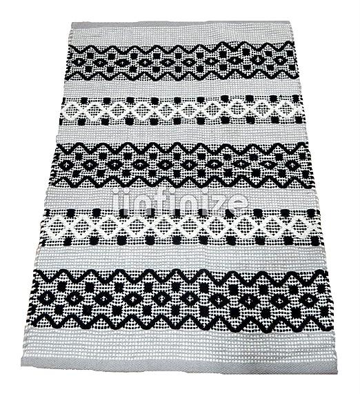iinfinize - Alfombra de 100% algodón con Forma Rectangular ...