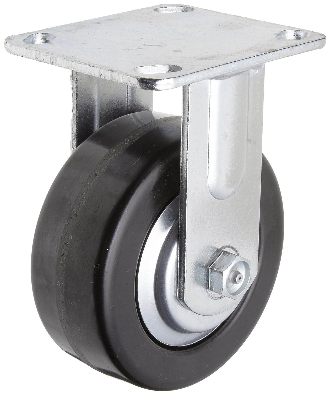 Phenolic Wheel 5 Wheel Dia 2 Wheel Width RWM Casters 45 Series Plate Caster 6-1//2 Mount Height 1000 lbs Capacity Roller Bearing Thread Guard 4-1//2 Plate Length Rigid 4 Plate Width