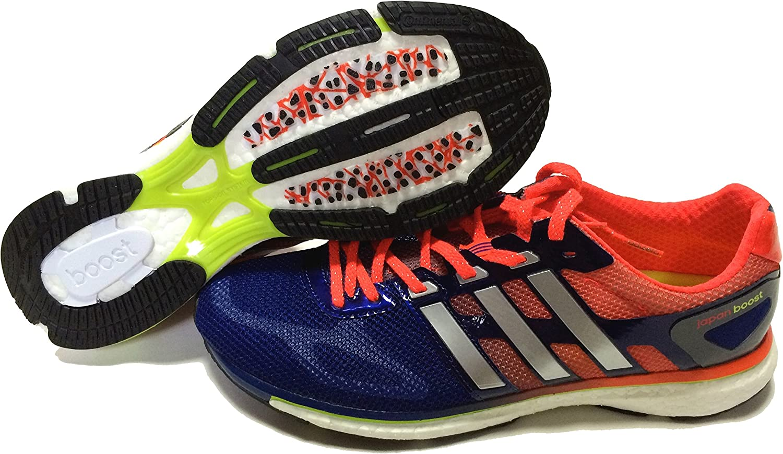 adidas - Zapatillas de Running de plástico para Mujer Bleu/Orange/Argent 40.5, Color, Talla 46 2/3 EU: Amazon.es: Zapatos y complementos