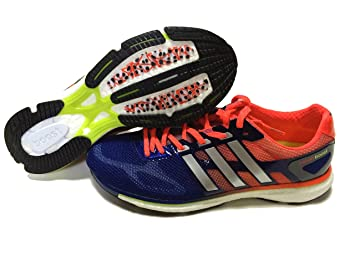 promo code a1026 c797a adidas Mens Running Shoes BLEUORANGEARGENT Size43 ...