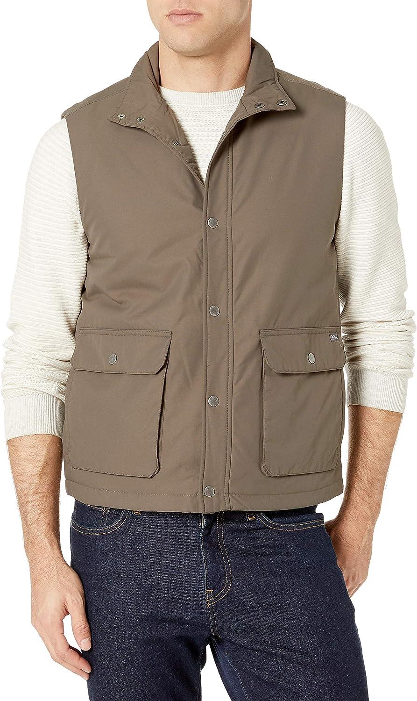 Woolrich mens Trout Run Flannel Lined Vest