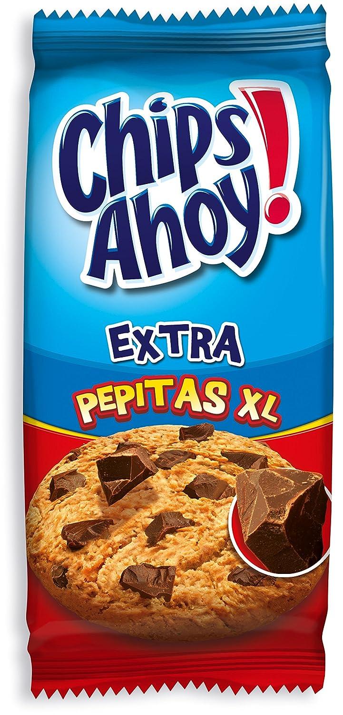 Chips Ahoy! - Extra Pepitas XL - Galletas con Trazos de Chocolate - 184 g - [Pack de 2]: Amazon.es: Alimentación y bebidas