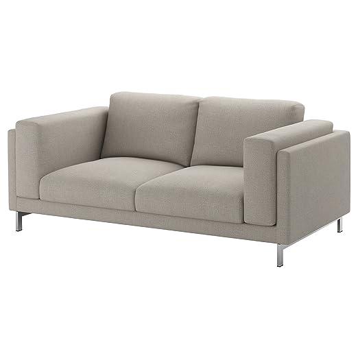 IKEA Nockeby - Patas para sofá de 2 plazas, color cromado ...