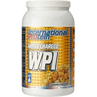 International Protein Amino Charged Whey Protein Isolate Powder, Caramel Popcorn 1.25 kg, Caramel Popcorn1.25 kilograms