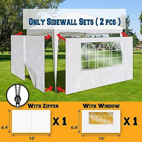 BenefitUSA Sidewalls 10'X6.4' Size