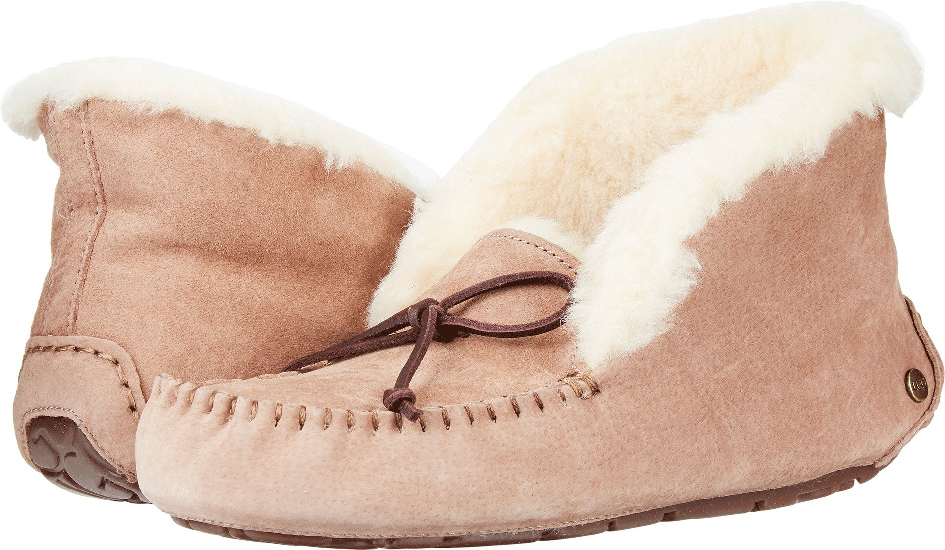 UGG Women's Alena Moccasin, Fawn, 8 M US