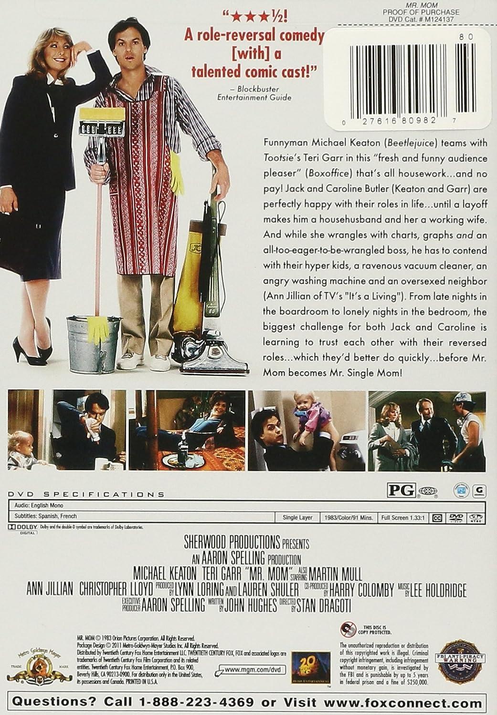 Amazon com: Mr  Mom: Michael Keaton, Teri Garr, Frederick