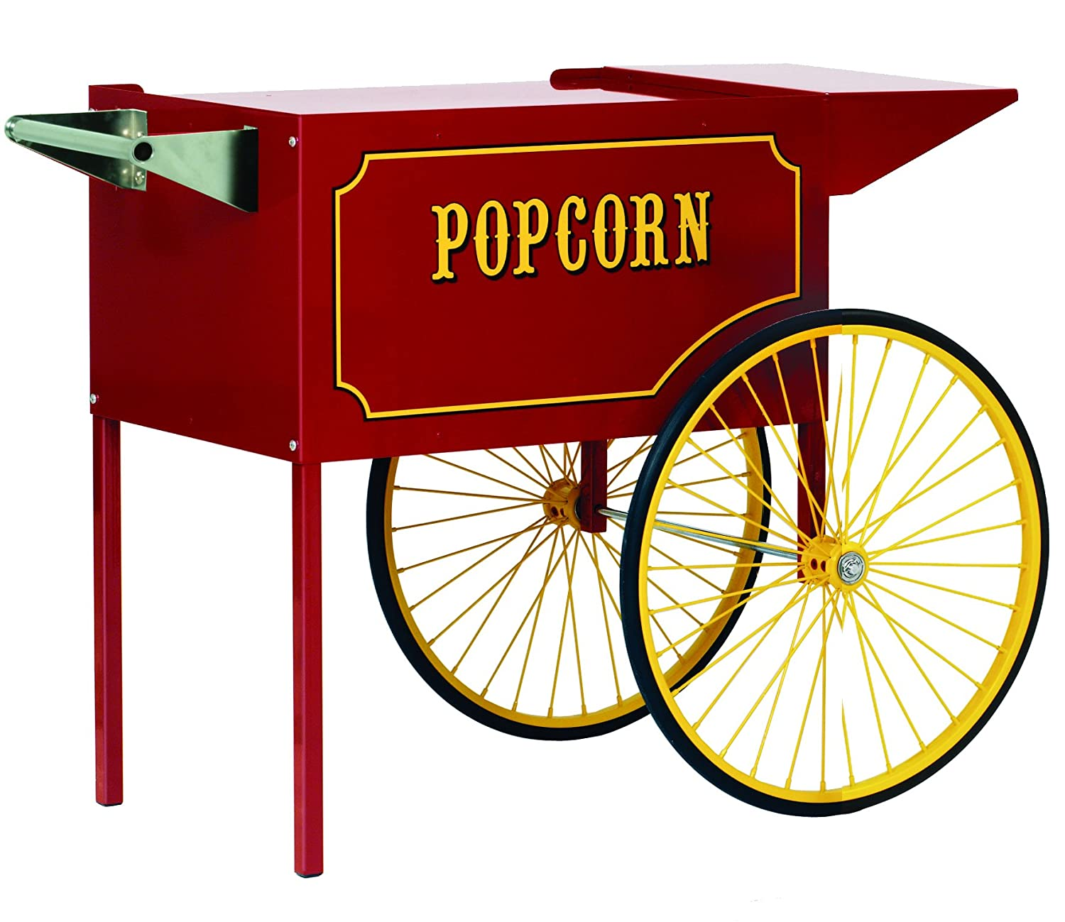 Paragon – Manufactured Fun Medium Popcorn Cart for 6 and 8-Ounce Poppers