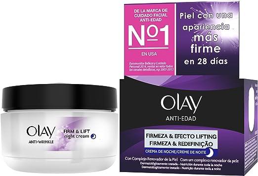 Olay Anti-EdadCrema facial de noche hidratante Firmeza & Efecto ...