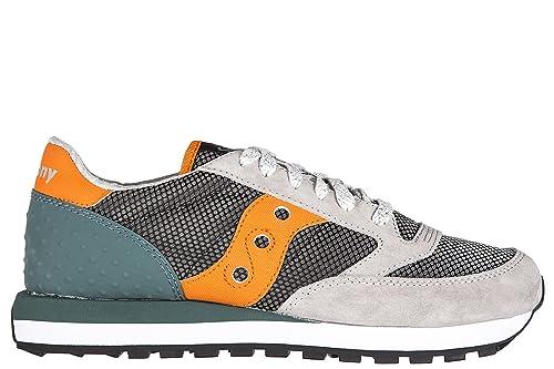 Saucony zapatos zapatillas de deporte hombres en ante nuevo jazz original gris EU 45 S70331 1: Amazon.es: Zapatos y complementos
