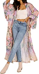 983af1dfd Spell & The Gypsy Lily Maxi Kimono Lilac