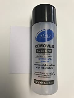 78ff06d4dbf Haz Remover Acetone, Artificial Nail Remover, Removes Nail Glue, Nail Tips,  Wraps and…