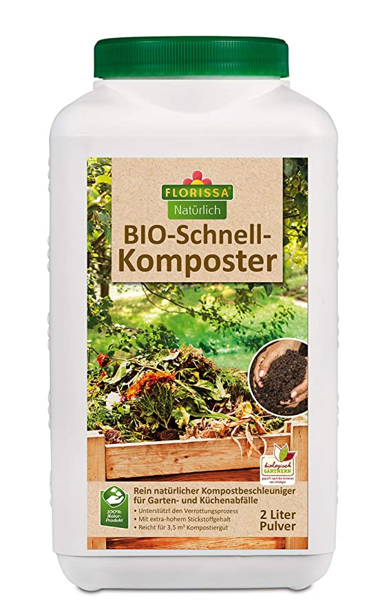 florissa Natural de Bio Compostador rápido (2 l): Amazon.es ...